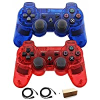 TTY- Wireless Bluetooth Controller For PS3 Double Shock Controller