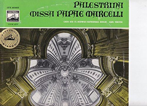Palestrina: Missa Papae Marcelli - 14 Madrigale u.a. Orlando di Lasso - Fr.Poulenc: 8 Motetten + Bonus Lp Archive Produktion 4 Lps 25cm -