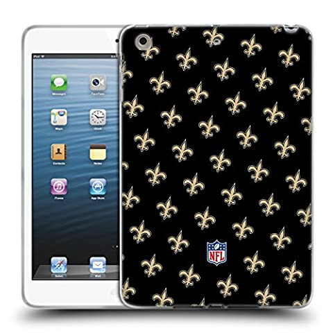 Officiel NFL Modèles 2017/18 New Orleans Saints Étui Coque en Gel molle pour Apple iPad mini 1 / 2 / 3