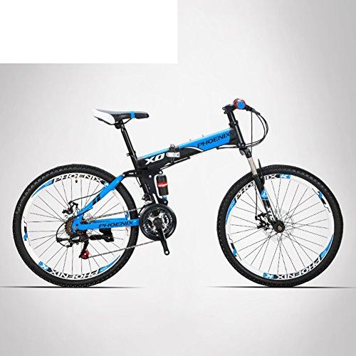 513ldVJdnDL. SS500  - HIKING BK Travel Bike 21-speed Folding Mountain Bike Off-road Students Adult Men And Women Race Bike Commuter Foldable Bicycle Shimono Shifter With Aluminium Frame Disc Brake