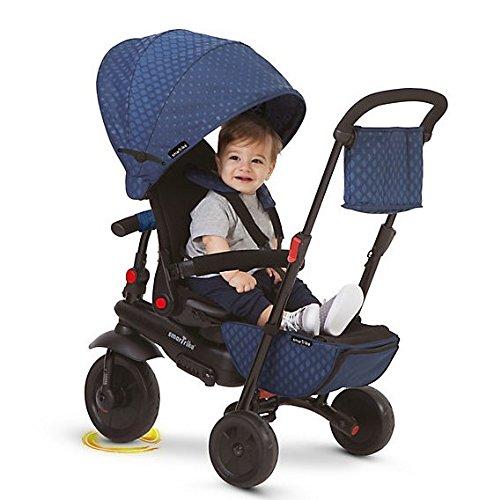 SMARTRIKE Tricycle Évolutif Pliant Smartfold 700, 8474, Bleu
