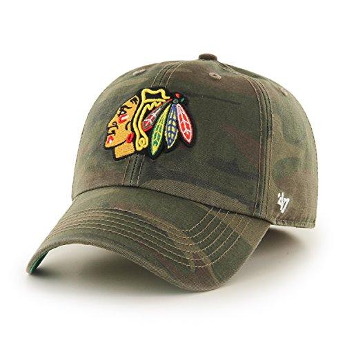 NHL Detroit Red Wings Camo Branson 47 Brand Trucker Cap Kappe Hockey Herren Weitere Wintersportarten Fanartikel