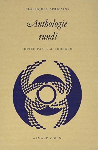 Anthologie Rundi