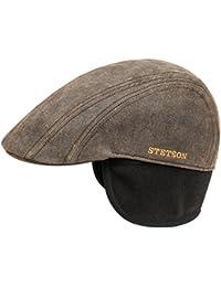 Casquette a Oreillettes Old Cotton Stetson casquette oreillettes