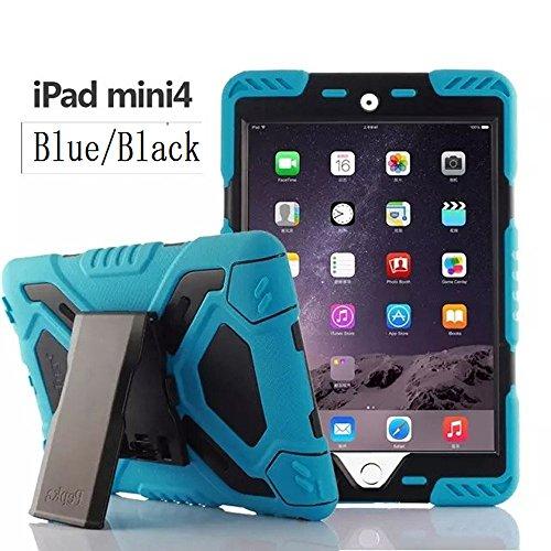Y&M pepko ipad mini 4 case Tablet-Schutzhülle, Apple iPad Mini, blau / schwarz