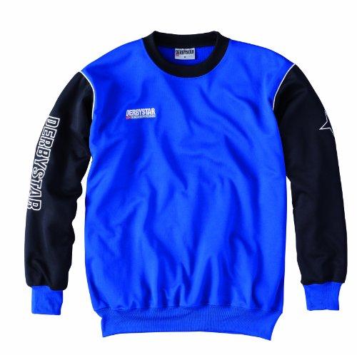 Derbystar Herren Sweatshirt Primera blau / schwarz