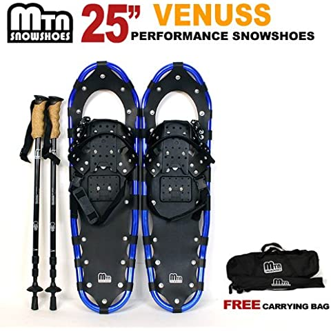 New MTN Man Woman Kid Youth 25 OP Blue Snowshoes