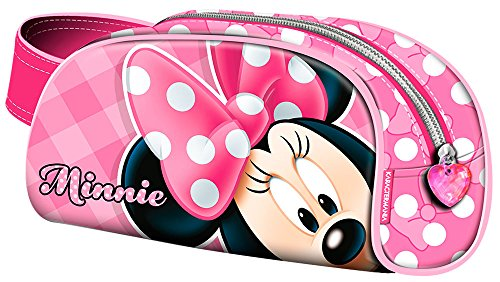 KARACTERMANIA Minnie Mouse Joyful Estuches, 20 cm, Rosa