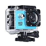 Numérique Caméra - 7 couleurs 2,0' Mini 1080P Full HD DV Sports Enregistreur voiture imperméable sport caméra caméscope - Yogogo (Bleu)