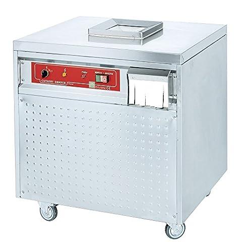 MACFRIN 46110G08 Stainless Steel Cutlery Dryer Steriliser, 900W, 230/1V, 50 Hz, 700 mm Length x 600 mm Width x 760 mm Height