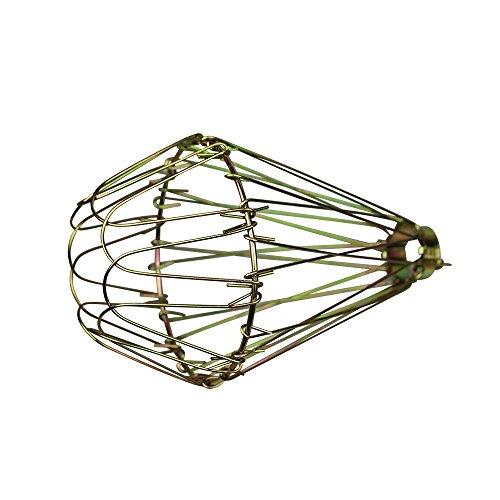 ASVP Shop Lampenschirm aus Messing (Schwarz), zum Anklipsen, Vintage-Lampe, metall, messing, Einheitsgröße -