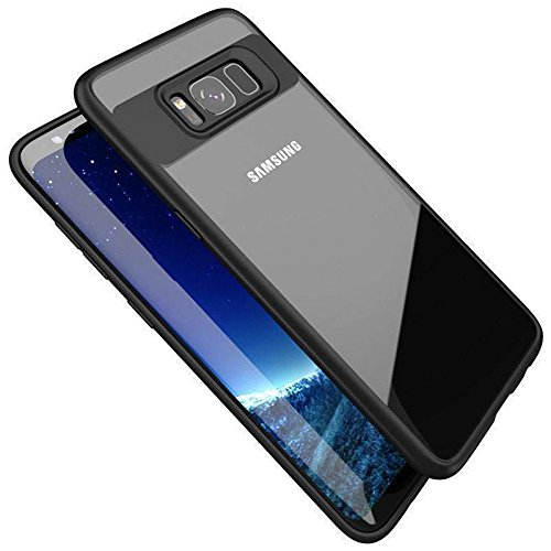 Samsung Galaxy S8 Silicon Mobile case (Black) at Discounted Price Rs 399