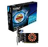 Palit NVIDIA GT 430 GeForce Grafikkarte(PCI-e, 1TB GDDR3 Speicher, VGA, DVI, HDMI, 1 GPU)
