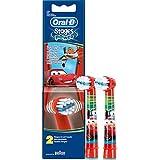 Braun Oral-B stages Potencia Kids de Cars 2er Juego de Cartuchos de cabezales de niños EB10-2K