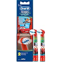 Braun Oral-B cabezales Stages Power Kids Cars Pack de 2 cabezas de cepillo Niños