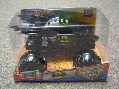 Jam-trucks Monster 1 24 Diecast (Monster Jam 1:24 Die Cast Grave Digger 30th Anniversary 2012 Edition Batman Monster Truck by MATTEL)