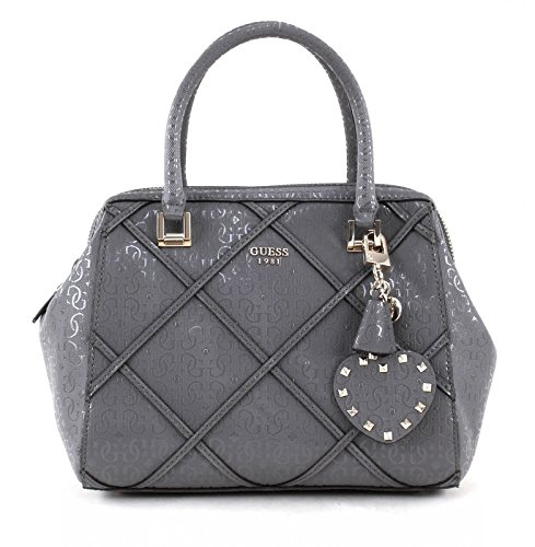 Guess-Tasche-Winett-Frame-Satchel-Grey