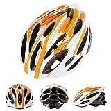 sunshineBoby Carbon Fahrrad Radfahren Skate Helm Mountainbike Helm--Erwachsene Fahrradhelm Fahrradhelm, mit Sicherheits-Rücklicht/Helm Regenschutz/abnehmbare Visier/Leichtgewicht/Komfortabel (Mehrfarbig A)