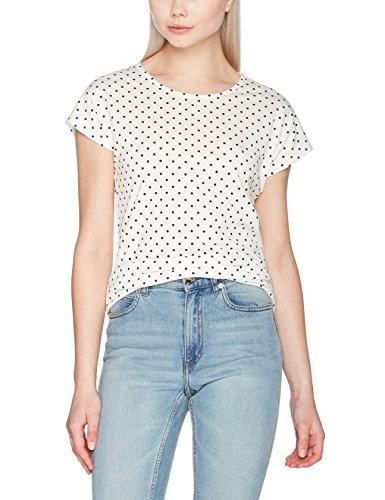 Vero Moda T-Shirt Donna Bianco (Snow White)