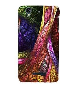 Fuson Designer Phone Back Case Cover YU Yureka Plus :: Yu Yureka PlusYU5510A ( Abstract Piece Of Colorful Art )