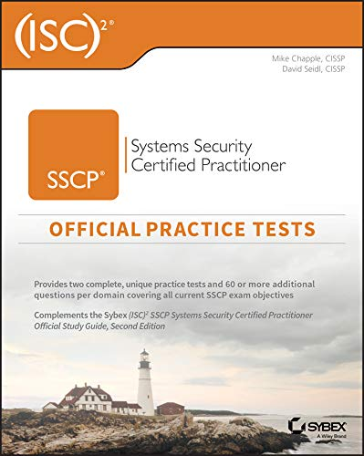 (isc)2 Sscp Systems Security Certified Practitioner Official Practice Tests por Mike Chapple