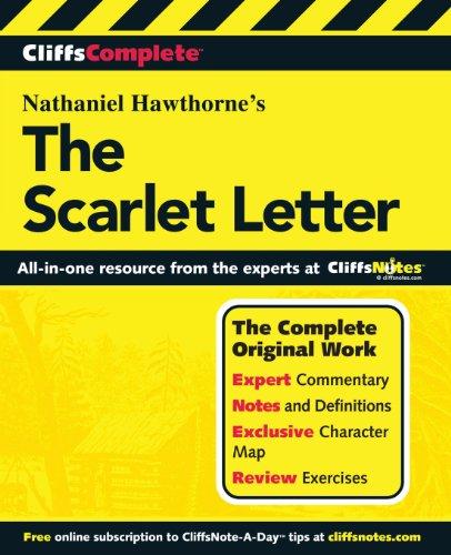 Hawthorne's The scarlet letter (CliffsComplete) (Cliff Notes Letter Scarlet)