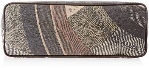 Gattinoni Gacpu0000087, Borsa a Spalla Donna, 13.5x31x35 cm (W x H x L) Marrone (Diana)