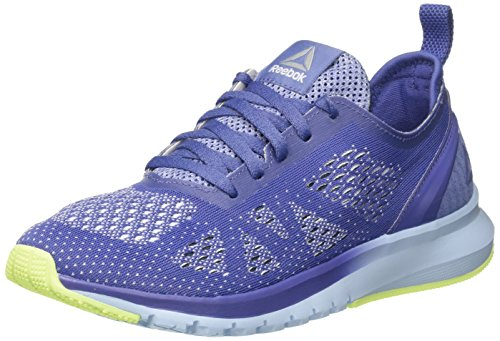 Reebok Damen Print Smooth Clip Ultraknit Laufschuhe, Blau (Lilac Shadow/Fresh Blue/e Flash/WHT/Smky Indg), 39 EU