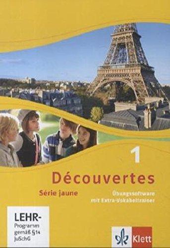 Découvertes 1. Série jaune: Übungssoftware mit Vokabeltrainer, Einzellizenz 1. Lernjahr (Découvertes. Série jaune (ab Klasse 6). Ausgabe ab 2012)