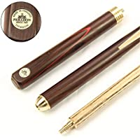 Peradon TYPHOON 3 Piece Matching Ash English Pool Cue 55 Inch With Rosewood Butt