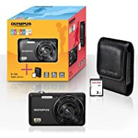 'Olympus d-735–12MP Digitale Kompaktkamera (2,7, 4x Digital Zoom, inkl. 2GB SD Karte und Tasche)