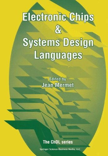 Electronic Chips & Systems Design Languages (Chdl)