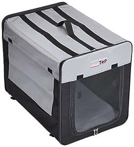 Karlie Smart Top Plus Faltbox, 64 x 46 x 53 cm, schwarz/grau