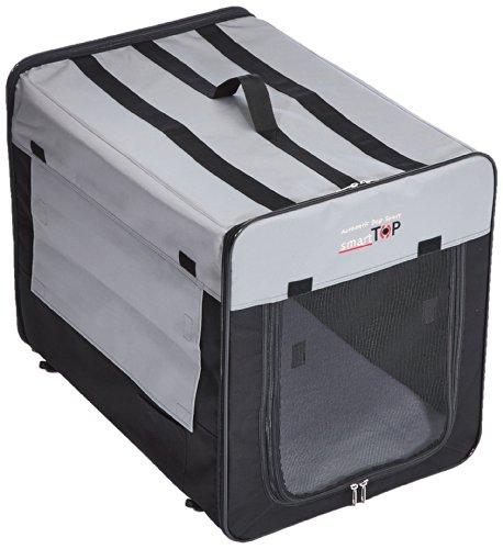 Karlie Smart Top Plus Faltbox, 64 x 46 x 53 cm, schwarz/grau Genie-top
