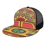 Inaayayi Gorra de béisbol con símbolo de la Paz, Estilo Hippie, Vintage, para Adultos,...