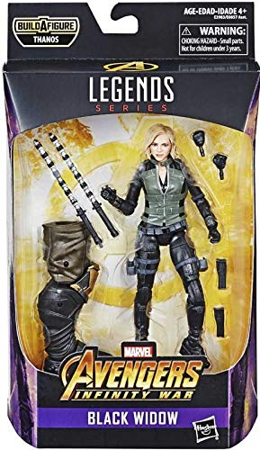 Marvel Legends Serie Avengers: Infinity War Black Widow Figur 15 cm