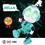 Peradix Robot Giocattolo per Bambini dai 3 ai 12 Anni, Robot parlante Divertente, Giocattolo educativo, Regalo di Compleanno per Bambini(Blu)