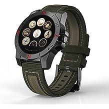 Bluetooth Smart Watch Heart brazalete de fitness iOS & Fitness Tracker elegiant Sport Smart Watch/Sport Reloj de pulsera herrensmart pulsera para niños mando a cámara llamada pantalla/inactivo de tiempo (7días)–[Color Verde]
