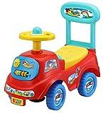 Rutschauto in 10 verschiedenen Modellen - Ein guter und preiswerter Aufsitzwagen Rutschwagen Lauflernwagen Kinderfahrzeug, Modell:Red