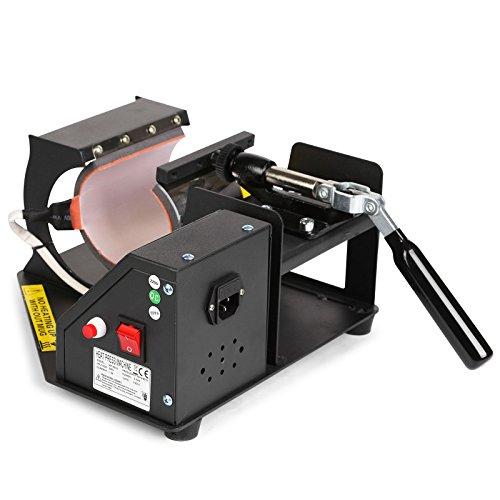 Lartuer Transferpresse Tassenpresse Heat Press Machine für zylindrische und konische Tassen 2 in 1 Digitale Zeitregelung und Temperaturüberwachung (2 in 1 Tassen) - 9
