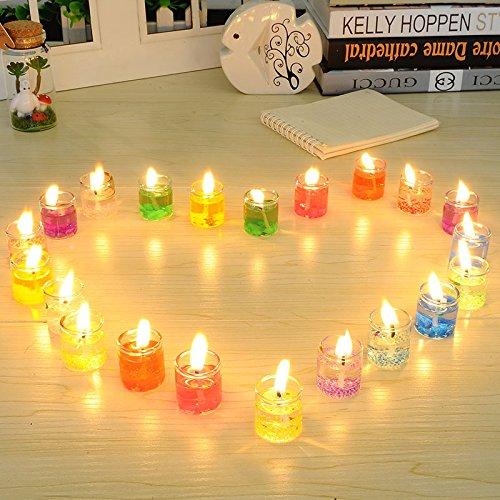 ZHUANGJI Jelly Dream Candles Neuheit European Candlelight Dinner -