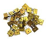 Horloge de cheminée x 10unités Bloqué en laiton assortis Horloge Pendule Suspension Ressorts