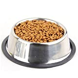 Yosoo Stainless Steel No tip Anti-Skid Dog Cat...