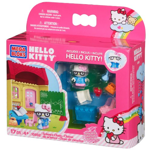 Mega Blocks aula divertido [Mega Bloks] Hello Kitty