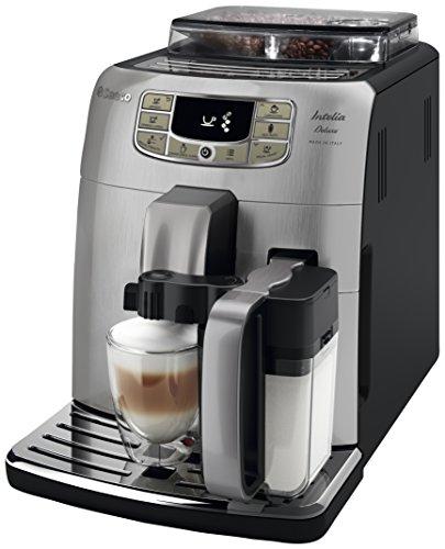 Saeco Intelia Deluxe HD8906/01 - Máquina de café espresso automática con jarra de leche