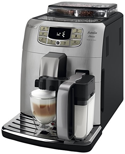 Saeco Intelia Deluxe HD8906/01 - Máquina de café espresso automática...