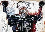 Jean-Michel Basquiat – Untitled 1982 (Boxer) Poster Drucken (20,96 x 14,94 cm)