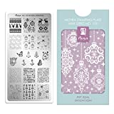 Moyra Frankreich Shop Offizielle – Moyra Mini Stamping Flache My Real Absicht