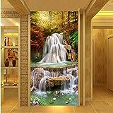 Steaean Fonds D'Écran HD Murales D'Érable Maple Falls Paysage Décoration De La...