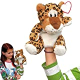 Handpuppe Leopard Handspiel-Puppe Kasperl-Theater Plüschtier Kuscheltier 27,5cm